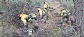Se da por controlado el incendio forestal declarado en el d�a de ayer en la Sierra de Carrascoy