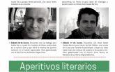 La biblioteca propone unos 'Aperitivos literarios' online para los sábados de marzo