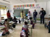 El Gorrito Sani llega a los colegios de San Javier