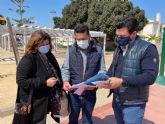 El Ayuntamiento de San Javier contrata obras de renovación en cinco parques infantiles por 120.000 euros