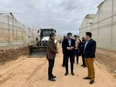 Comienzan las obras de adecuación en el camino rural Lo Llerena