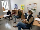 El concejal de Educación, David Martínez visita los colegios del municipio para conocer  sus necesidades