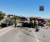 Un fallecido y dos heridos en un accidente de tráfico ocurrido en Archena