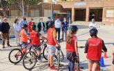 Las Aulas Ciclistas de 'La Vuelta Junior Cofidis'llegan al colegio 'Mediterráneo' de La Manga del Mar Menor