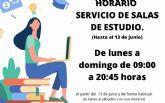 La biblioteca de San Javier abre de lunes a domingo de 09:00 a 20:45 hasta el 13 de junio
