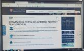El portal web municipal incorpora un sistema de navegación accesible