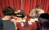 Daniel Martínez y Bertolt Salvago presentan en San Javier su libro 'Iberian . El despertar de los Ninos Índigo'