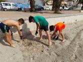 San Javier se suma un ano más al Proyecto Libera contra la 'basuraleza'