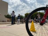 La Vuelta Junior Cofidis cierra en el CEIP 'El Recuerdo' su visita a los colegios del municipio
