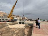 Las obras de aumento de capacidad de desagüe en la zona del parque Jabalina estarán terminadas  a finales de julio