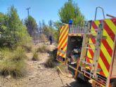 Controlan un conato de incendio forestal en la Sierra de Benís, en Cieza