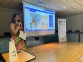 La concejala de Mujer, Ana Belén Martínez, presenta la web 'San Javier Suma por la Igualdad'