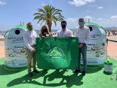 Ecovidrio presenta en San Javier la campana Banderas Verdes que premiará la recogida de vidrio durante el verano en cinco municipios  costeros murcianos