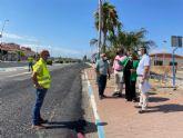 El Ayuntamiento repara el firme y crea un nuevo cruce semafórico en el tramo de la antigua N-332 a su paso por Euro-Roda
