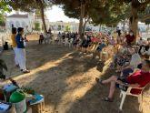 Numerosas personas mayores acuden a la inaugación de la Red de Puntos de Encuentro de Personas Mayores de San Javier