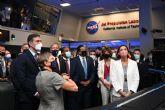 Sánchez subraya el interés de Espana en profundizar en la colaboración con la NASA