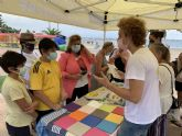 El Ayuntamiento de San Javier y Ecoembes llevan la economía circular a las playas