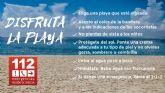 Los puestos de vigilancia de playas del Plan Copla han abierto hoy sábado, 31, con bandera amarilla en 2 playas de La Unión