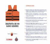 Los puestos de vigilancia del Plan Copla han abierto hoy lunes con bandera amarilla en 9 playas de La Manga (Cartagena y San Javier)