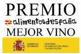 Agricultura, Pesca y Alimentación concede el Premio Alimentos de Espana al Mejor Vino, ano 2021