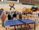 Los mejores palistas de tenis de mesa en edad escolar se darán cita en San Javier del 2 al 5 de septiembre