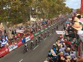 Llegada de la Vuelta Ciclista a Espana 2021