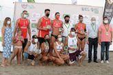 Las parejas Lobato-González y Henández-Tovar ganan el Costa Cálida International Open en San Javier