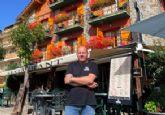 Edu Vidal, 20 anos al frente del Hotel Esquirol de Llívia