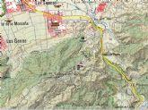 Bomberos rescatan a un ciclista herido en la Sierra de la Cresta del Gallo de Murcia
