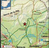 Esta pasada madrugada se ha producido un movimiento sísmico de 3,4 de magnitud al Noroeste de Fortuna