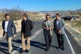 Culminan las obras de ampliación y mejora del firme de la carretera que une la Puebla de Mula con Fuente Librilla