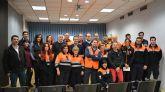 32 voluntarios de toda la Regi�n reciben formaci�n en Protecci�n Civil en Lorqu�