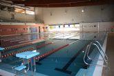Nataci�n para escolares en la piscina climatizada
