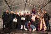 Playas de Percheles gana el primer premio en el desfile de carnaval de las peñas locales