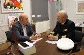 El alcalde se reúne con el delegado de Defensa en la Región de Murcia