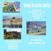 El Ayuntamiento de Molina de Segura organiza jornadas de puertas abiertas en las escuelas infantiles del municipio durante el mes de febrero