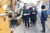 El Ayuntamiento realiza obras de mejora de la red de saneamiento y recogida de aguas pluviales