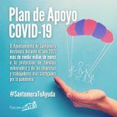 El Ayuntamiento destinará medio millón en atención social y apoyo frente al COVID