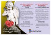Abierto el plazo de inscripción para el X certamen de poemas de amor 'declara-te'