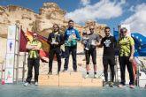 500 corredores se dieron cita en las calas de Bolnuevo para participar en el V cross trail del Club Bah�a de Mazarr�n