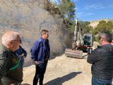 Supervisan las obras desarrolladas en caminos forestales ubicados en montes públicos de la zona norte de la Región afectados por la dana