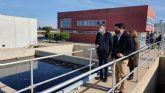 La Comunidad invertirá 4 millones de euros para mejorar la depuradora de San Javier que contará con un nuevo tanque de tormentas