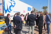 Un camión llevará por toda Europa la imagen de la asociación contra el cáncer de mama Flamenco Rosa