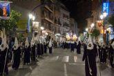 La procesión del Cristo del Perdón llenó las calles de Archena de las primeras emociones de esta Semana Santa
