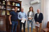 La Alcaldesa de Archena firma dos convenios de colaboración con dos importantes clubs deportivos locales