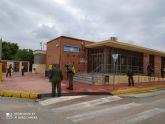 Las Fuerzas Armadas desinfectan espacios públicos de Torre Pacheco
