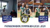 Aquadeus renueva su colaboración con el Albacete Basket