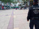 La Policía Local de Lorca interpuso 105 denuncias la última semana por no respetar las medidas de prevención anticovid