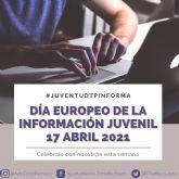 El Ayuntamiento de Torre Pacheco conmemora el Día Europeo de la Información Juvenil con la campana informativa #JUVENTUDTPINFORMA