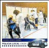 Salud Pública de la Región de Murcia celebra este martes otra jornada de vacunación masiva en el Polideportivo Municipal Mariano Rojas
